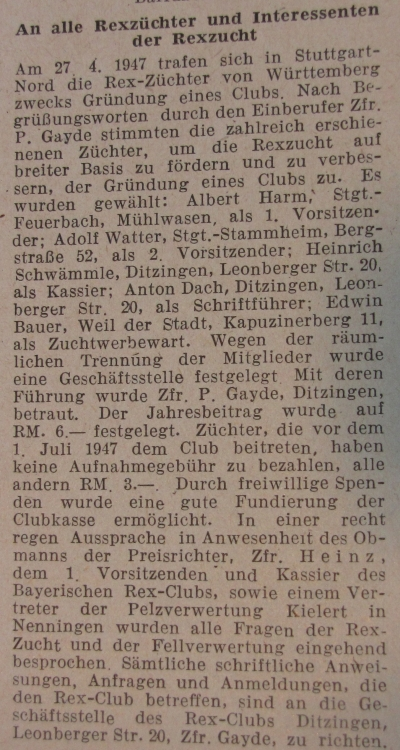 Text aus DKZ 11/1947